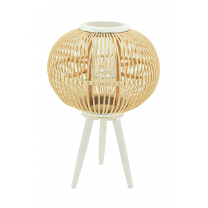 Photo DBO3610V : Natural rattan lantern