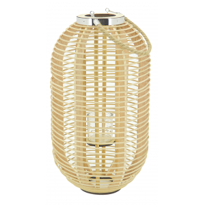 Photo DBO3620V : Natural rattan lantern