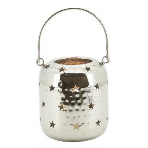 Photo DBO3781 : Aluminium embossed lantern Stars
