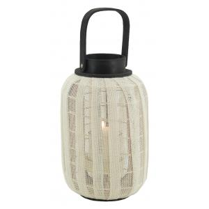 Photo DBO4060V : Wood and cotton lantern