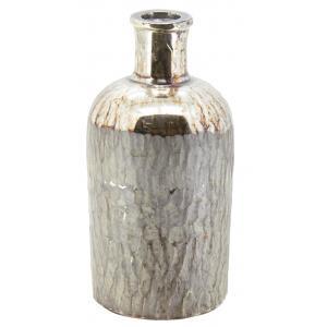 Photo DBR1080V : Vase flacon en verre antique