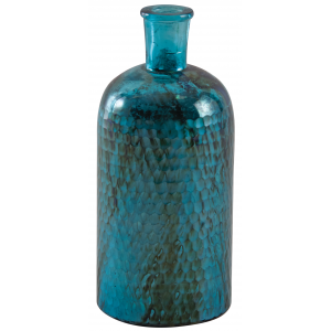Photo DBR1090V : Oxidised glass bottle