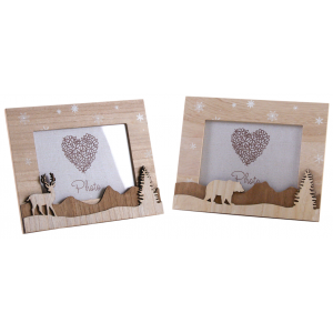 Photo DCA2500 : Wooden photo frame