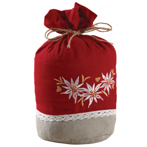 Photo DMA1420 : Edelweiss doorstop in cotton and linen