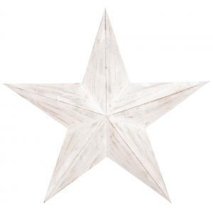Photo DMU2020 : Décoration murale étoile en bois