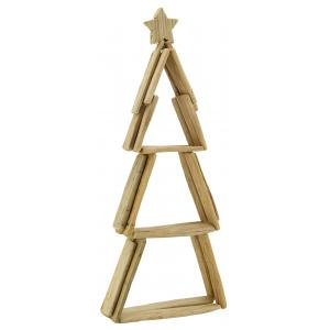 Photo DNO1640 : Wooden christmas tree with star