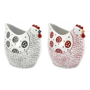 Photo DVA1751 : Ceramic vases Chicken