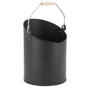 Photo GCH2250 : Black metal ash bucket