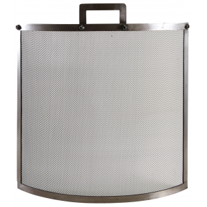 Photo GCH2270 : Fire screen in pewter antic finish