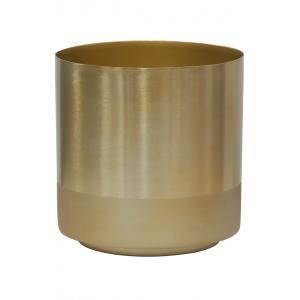 Photo GCP2220 : Cache-pot en métal doré