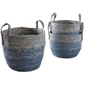 Photo JCP403S : Cache-pots en maïs teinté