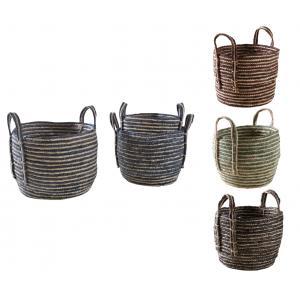 Photo JCP405S : Cache-pots en jacinthe teinté