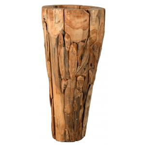 Photo JVA1510 : Grand vase en teck