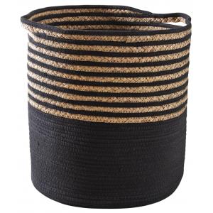 Photo KLI3660 : Jute and cotton clothes baskets