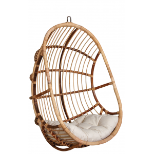 Photo MBA1250C : Rattan swing chair