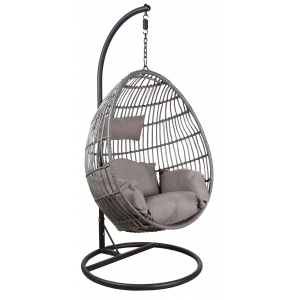 Photo MBA1260C : Polyresin hanging chair