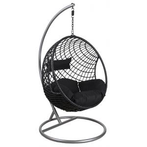 Photo MBA1270C : Round polyresin hanging chair