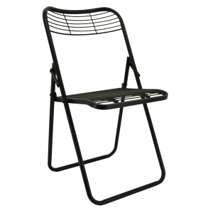 Photo MCH1690 : Chaise pliante en métal
