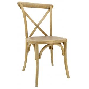 Photo MCH1810 : Whitewashed elm chair