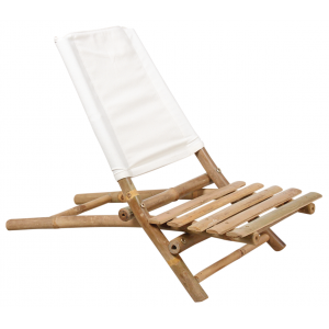 Photo MCL1130C : Chaise de plage en bambou