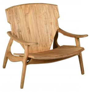 Photo MFA3500 : Fauteuil design en teck naturel Brazil