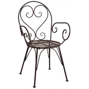 Photo MFT1300 : Vintage metal garden chair