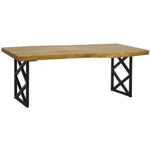 Photo MTA1660 : Table en bois de suar patiné
