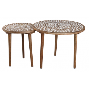 Photo MTB165S : Mango coffee tables