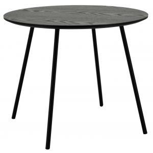 Photo MTB1792 : Mdf top veneer black wood coffee table