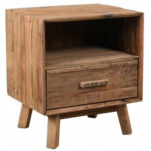 Photo MTN1230 : Recycled pine bedside table