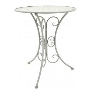 Photo MTT1290 : Table pliante en métal gris