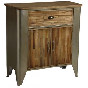 Photo NCM3260 : Commode en bois et métal