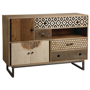 Photo NCM3300 : Mango chest of drawers