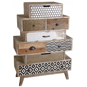 Photo NCM3310 : Mango drawer chest