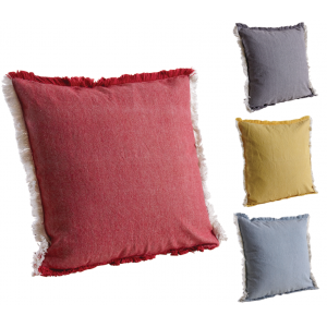 Photo NCO2490 : Cotton cushion with faded effect.