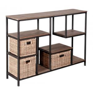 Photo NCS1450 : Wood mindi console table