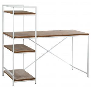 Photo NCS1540 : Bureau en métal et bois