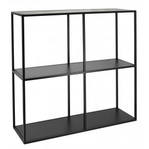 Photo NEM1360 : Black metal shelves