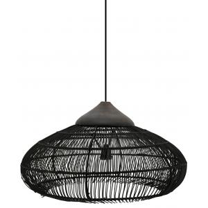 Photo NLA2710 : Bambou and metal lamps