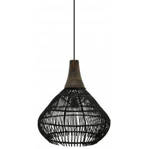 Photo NLA2720 : Bambou and metal lamps
