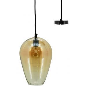 Photo NLA2880V : Amber glass lamp bulb Ashoka