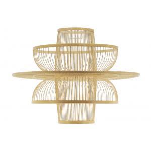 Photo NLA3020 : Natural design and openwork bamboo lamp