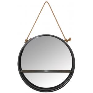 Photo NMI1800V : Etagère ronde avec miroir