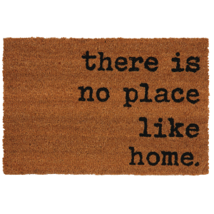 Photo NPA1960 : Paillasson There is no place like home