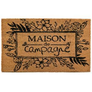 Photo NPA3020 : Paillasson en coco Maison de Campagne