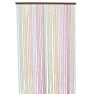 Photo NRI1600 : Wooden door curtain