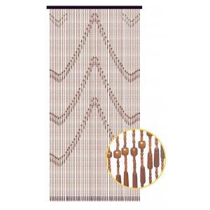 Photo NRI1950 : Wooden door curtain