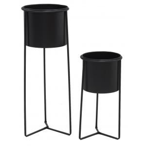 Photo NSE202S : Metal flower pot covers