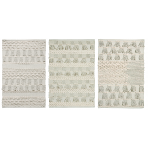 Photo NTA1820 : Cotton rugs. Assorted design