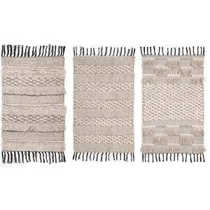 Photo NTA1830 : Cotton rug with fringe